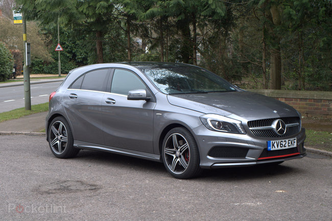 Mercedes A Class 250 BlueEFFICIENCY engineered by AMG pictures and hands-on - photo 9