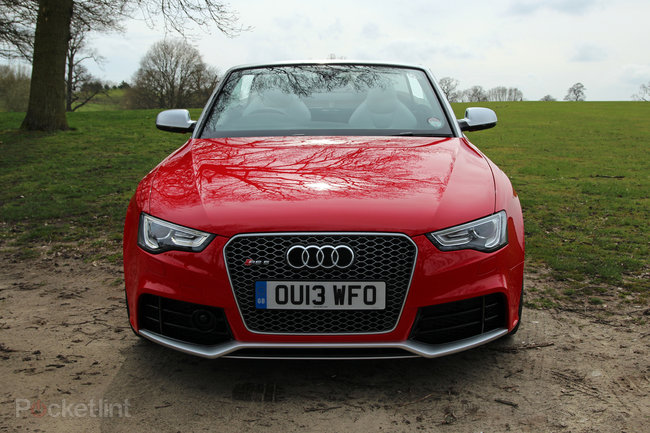 Audi RS5 Cabriolet pictures and hands-on - photo 2