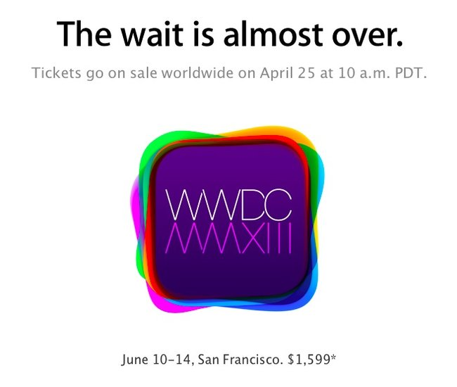 WWDC 2013 date announced for June, Apple to unveil iOS 7? - photo 2