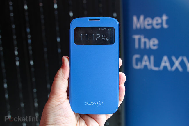 Hands-on: Samsung Galaxy S4 S View cover review - photo 1
