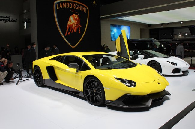 Lamborghini Aventador LP720-4 50° pictures and eyes-on - photo 1