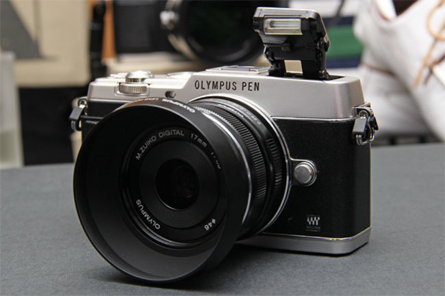 Olympus PEN E-P5 shot in the wild, Wi-Fi and 16-megapixel sensor rumoured - photo 1