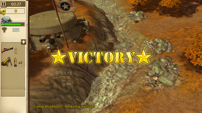 App of the day: Hills of Glory 3D review (Android) - photo 1