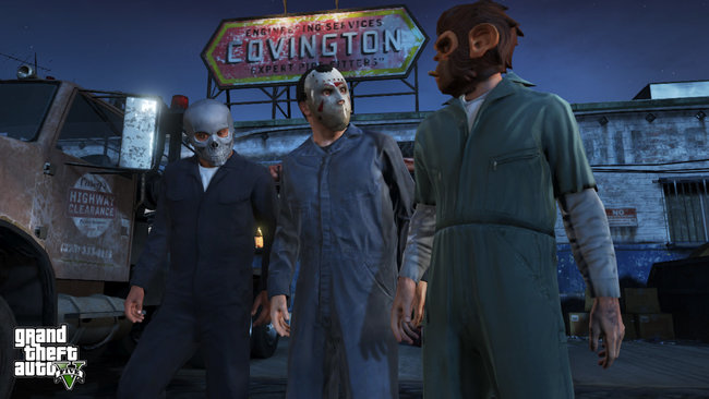 GTA V: New action screens arrive, excitement ratchets up a notch - photo 12