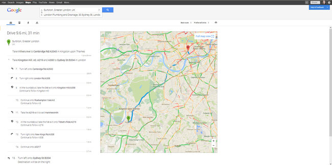 New Google Maps: We explore the features of the preview - photo 2