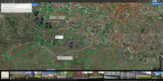 New Google Maps: We explore the features of the preview - photo 6