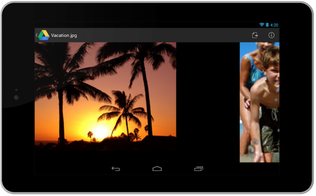 Google Drive for Android gets card-style design and document scanning - photo 2