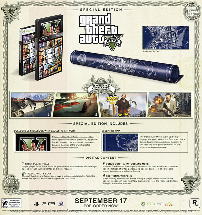 GTA V Special Edition and Collector's Edition sets revealed, pre-orders open - photo 2