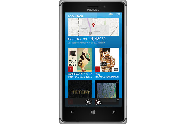 Shazam for Windows Phone 8 now available, unlimited tagging and links to Xbox Music - photo 3