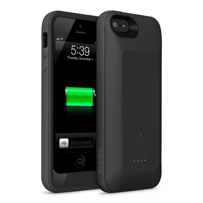 Belkin's Grip Power Battery Case doubles iPhone 5 battery life - photo 1