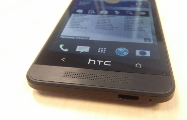 HTC One mini / HTC M4 revealed in leaked hands-on pictures - photo 1