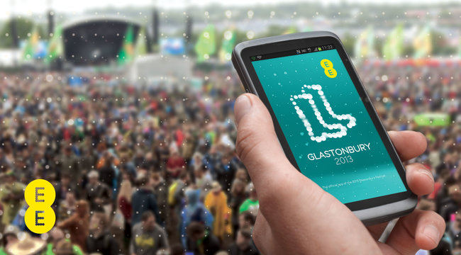 Glastonbury Festival 2013 app for iPhone and Android released by EE, streams BBC coverage and more - photo 3