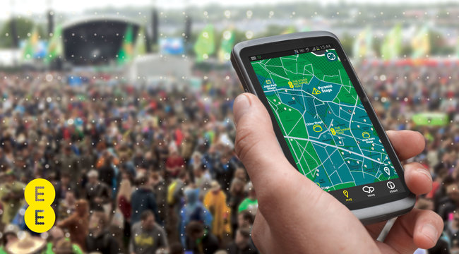 Glastonbury Festival 2013 app for iPhone and Android released by EE, streams BBC coverage and more - photo 4