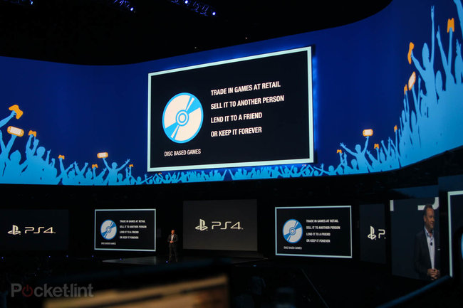 Sony: PS4 supports used games, doesn't need to be connected, and won't require you to check-in online - photo 2