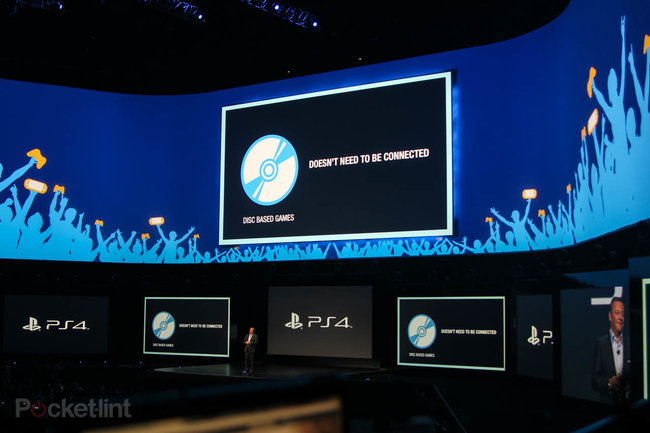 Sony: PS4 supports used games, doesn't need to be connected, and won't require you to check-in online - photo 3