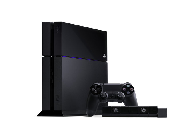 Sony PlayStation 4 console design: Official pictures revealed - photo 1