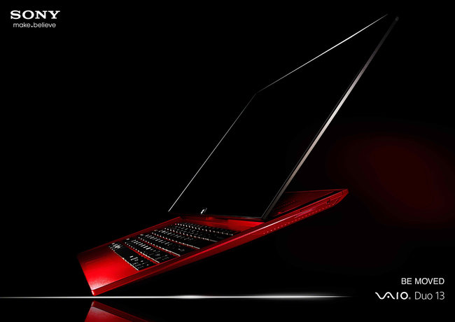 Red for danger: Sony Vaio Red Edition Duo 13 and Pro specials announced - photo 1
