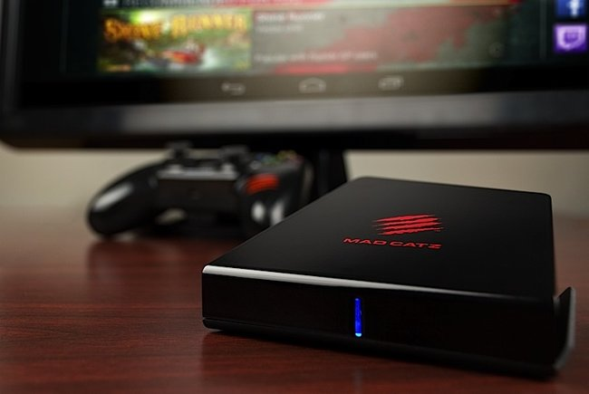 Mad Catz officially reveals M.O.J.O. Android micro console - photo 1