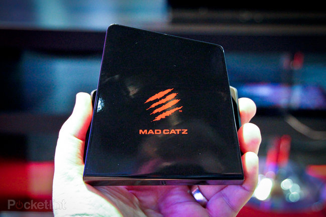 Mad Catz M.O.J.O. Android games console pictures and hands-on - photo 1