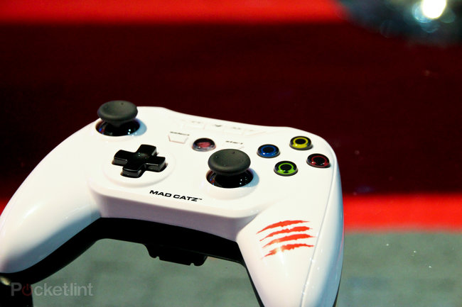 Mad Catz M.O.J.O. Android games console pictures and hands-on - photo 11