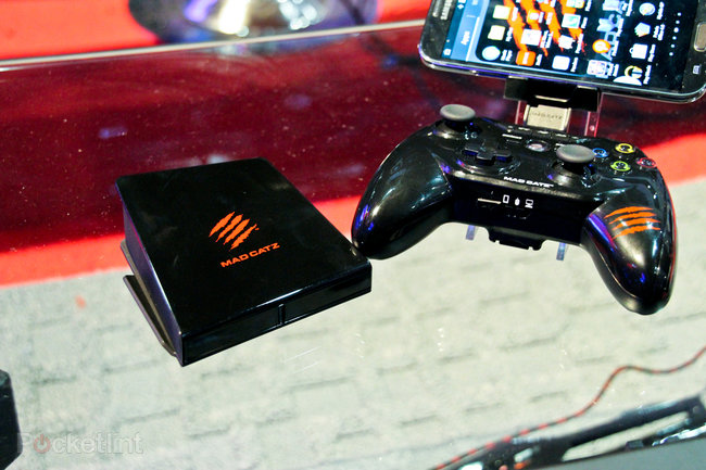 Mad Catz M.O.J.O. Android games console pictures and hands-on - photo 12