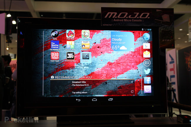 Mad Catz M.O.J.O. Android games console pictures and hands-on - photo 6