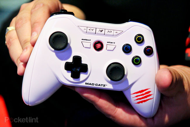 Mad Catz M.O.J.O. Android games console pictures and hands-on - photo 7