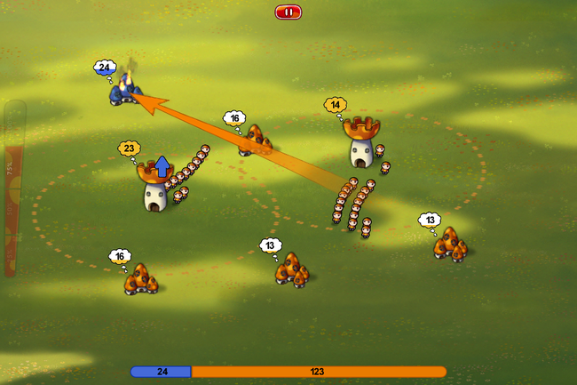App of the day: Mushroom Wars Mini review (iPhone) - photo 2