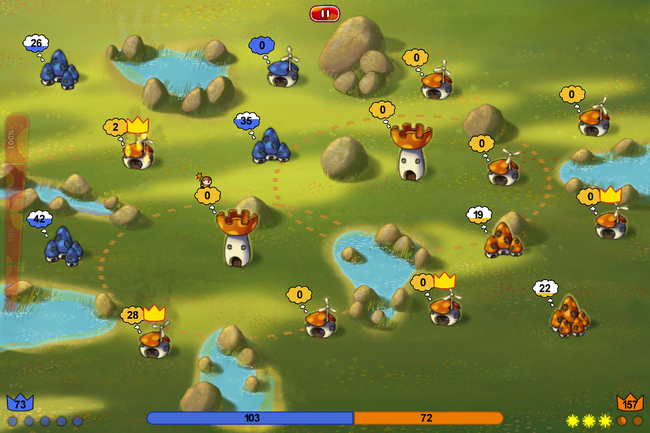 App of the day: Mushroom Wars Mini review (iPhone) - photo 6