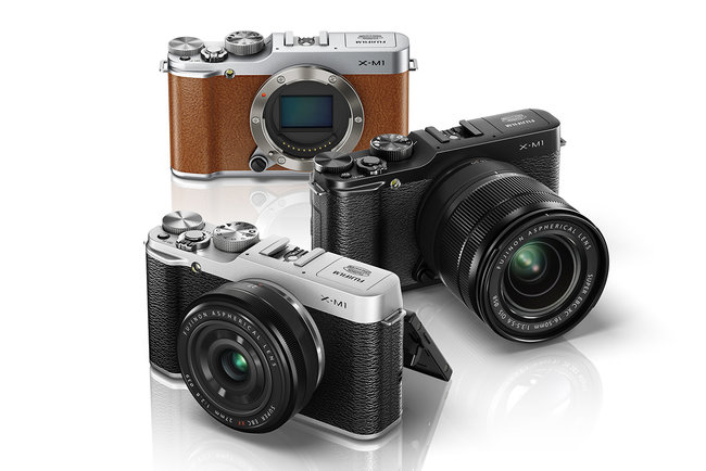 Fujifilm X-M1: The smallest X-series interchangeable system camera adds Wi-Fi, EXR II and more - photo 1