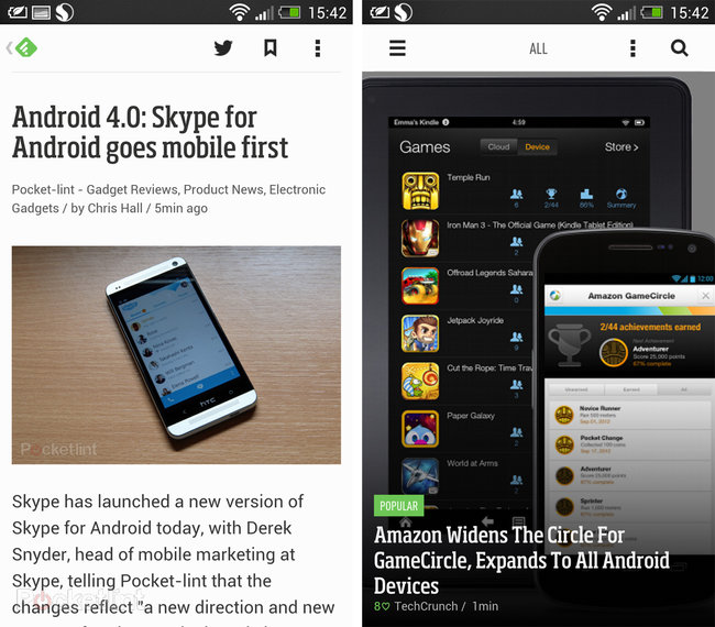 App of the day: Feedly review (Android) - photo 2