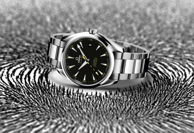 Omega Seamaster Aqua Terra anti-magnetic watch stops time for no-one - photo 13