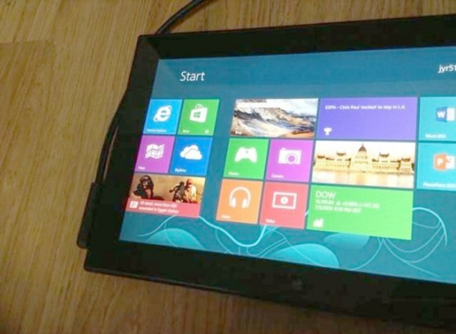 Pictures of Nokia Windows tablet show Lumia slate in action - photo 1