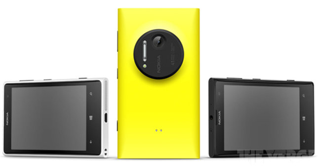 Another round of Nokia Lumia 1020 press pics leak, camera grip confirmed - photo 4