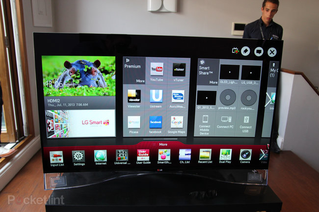 LG 55EA9800 Curved OLED: Stunning in the flesh, beautiful to behold - photo 12