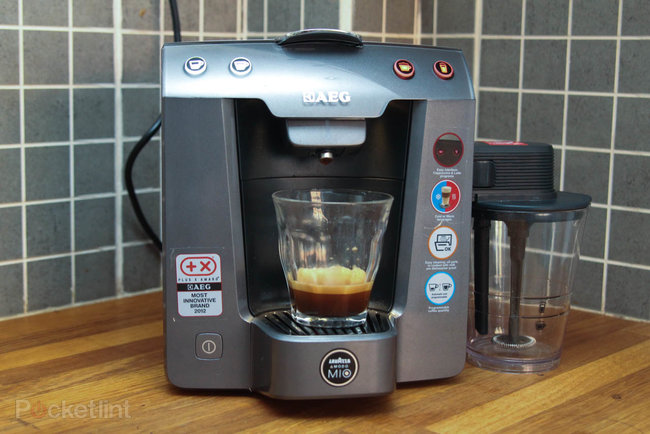 A Modo Mio Favola Cappuccino coffee machine review - photo 12