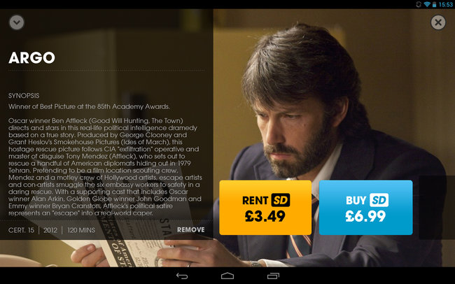 App of the day: Blinkbox review (Android) - photo 2