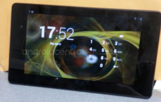 Nexus 7 2: Documents and pictures show launch imminent - photo 1
