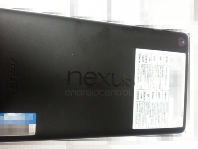 Nexus 7 2: Documents and pictures show launch imminent - photo 2