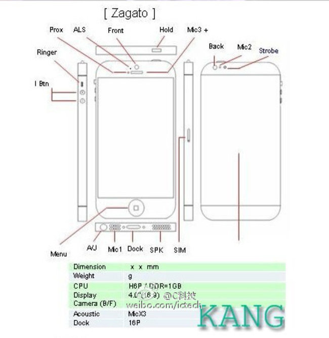 New budget iPhone leak claims there will be two versions, codenamed Zenvo and Zagato/Bertone - photo 3
