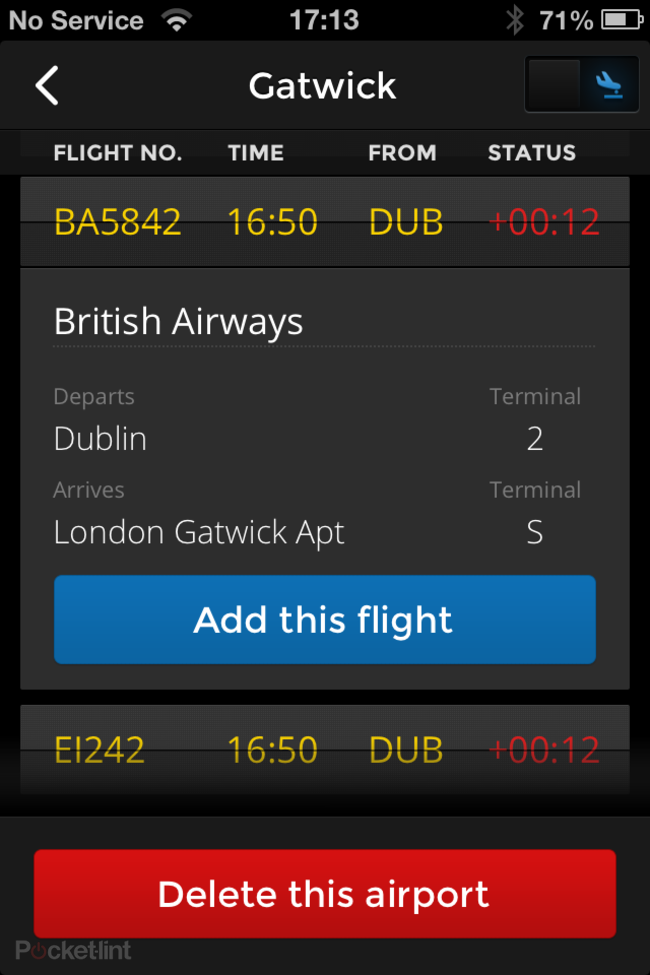 App of the day: Flight Finder review (iPhone) - photo 11