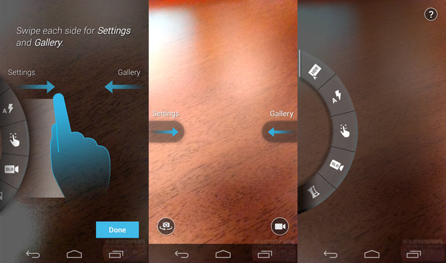 Motorola Moto X camera interface screens leaked - photo 1