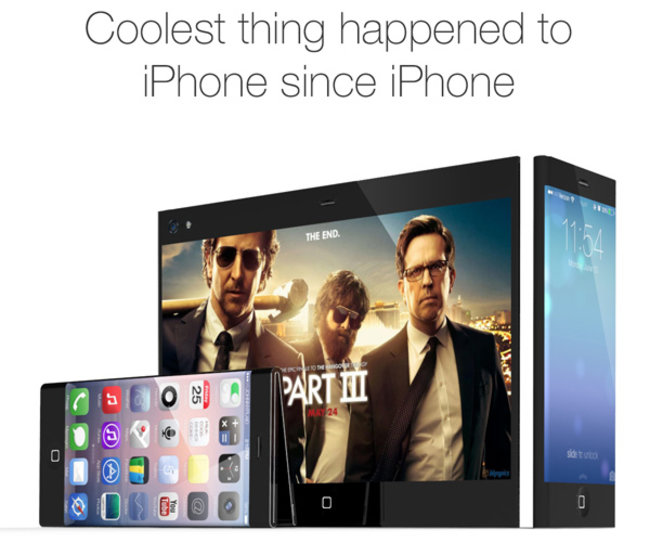 Flat iPhone 6 concept entertains foldable, 3-in-1 screen size idea - photo 11