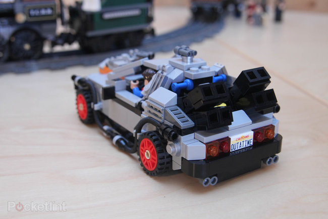 Lego Back To The Future + Lone Ranger Constitution Train Chase = BTTF III gold - photo 8