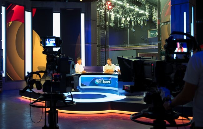 BT Sport challenges Sky Sports' dominance with huge studio, ground-breaking tech and social media integration - photo 2