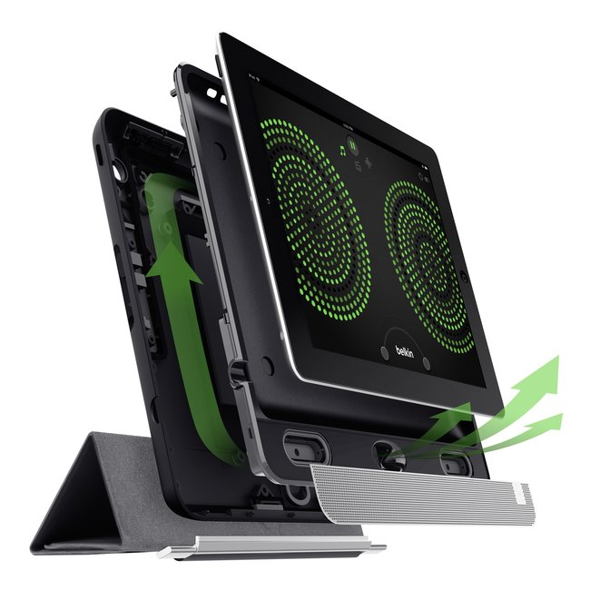 Belkin's Thunderstorm Home Theater case launches for iPad 4 - photo 3