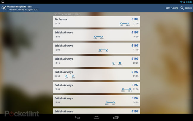 App of the day: Expedia review (Android) - photo 3