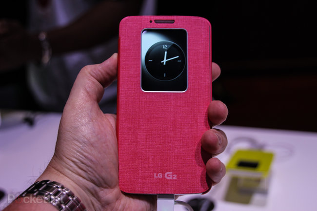LG G2 QuickWindow Case pictures and hands-on - photo 3