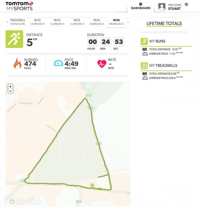 TomTom Runner review - photo 19