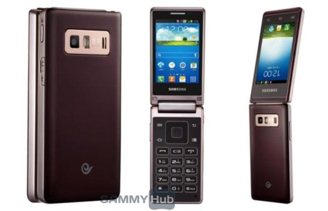 Samsung Galaxy Folder clamshell Android phone in all its press pic glory - photo 2